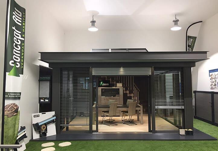 ATEM+ showroom