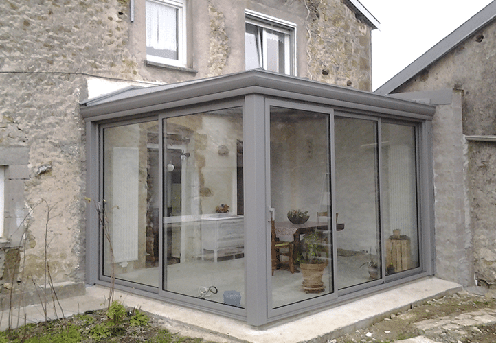 Concept Alu - réalisation veranda NEO VERANDAS 88