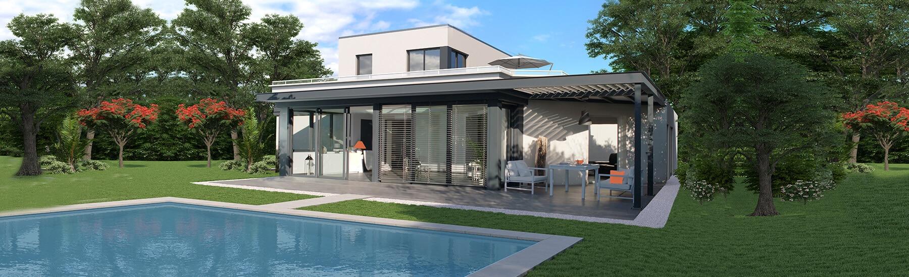 Couvrir Une Terrasse Permis De Construire avec quoi couvrir une pergola ? | concept alu